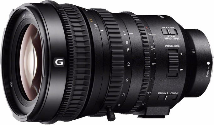 Sony 18-110mm f/4 G PZ OSS E-Mount Lens