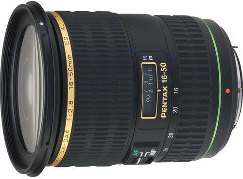 Pentax DA 16-50mm f/2.8 ED IF SDM Wide Angle Lens