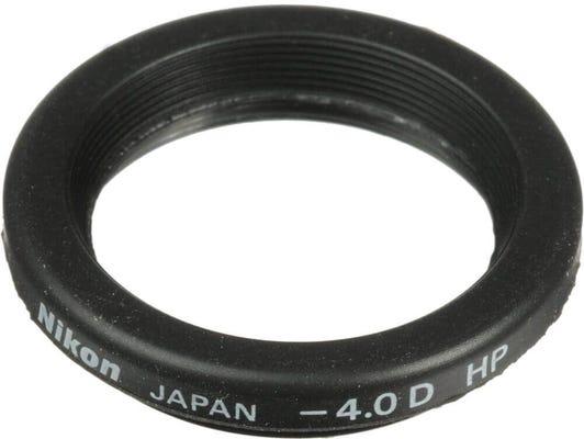 Nikon Diopter Eyepiece Correction -4