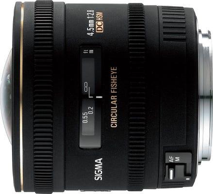 Sigma 4.5mm f/2.8 DC HSM Fisheye Lens - Canon