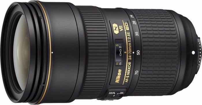 Nikon AF-S 24-70mm f/2.8E ED VR Lens