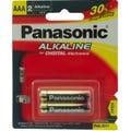 Panasonic AAA  Alkaline SW 2Pk Battery