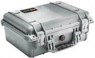 Pelican 1450 Silver Case with Foam