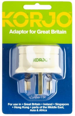 Korjo Great Britain Adaptor