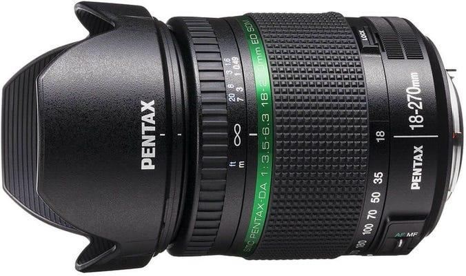 Pentax DA 18-270mm f/3.5-6.3 SDM Lens