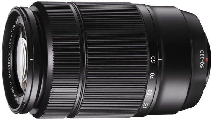 Fujifilm XC 50-230mm f/4.5-6.7 Black Lens