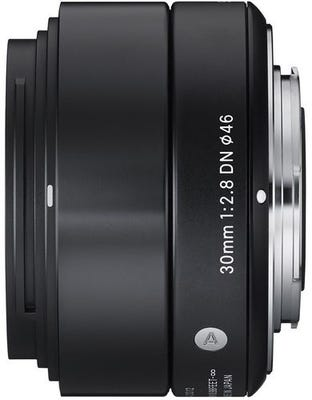 Sigma 30mm f/2.8 DN Black Art Series Lens - Micro Four Thirds