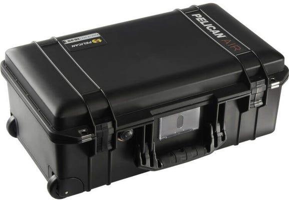 Pelican Case 1535AIR Black TrekPak Dividers System Wheeled