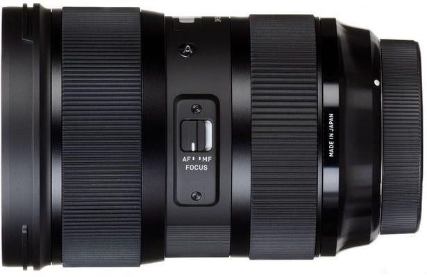 Sigma 24-35mm f/2.0 DG HSM Art Series Lens - Nikon