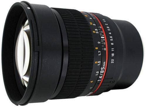 Samyang 85mm f/1.4 Sony FE Lens