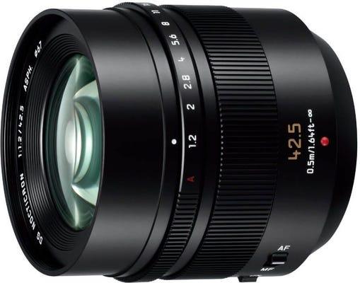 Panasonic Leica DG Nocticron 42.5mm f/1.2 Power OIS Lens