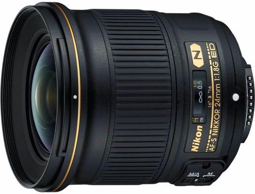 Nikon AF-S 24mm f/1.8G ED Lens
