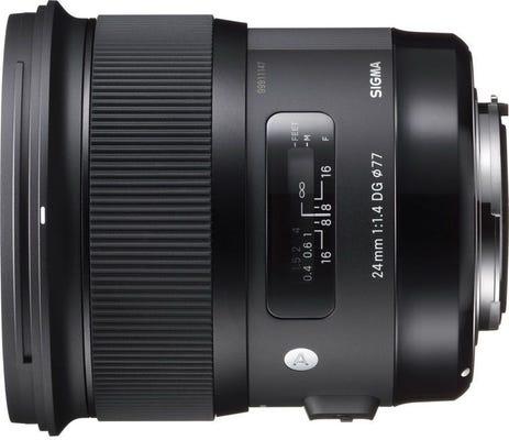 Sigma 24mm f/1.4 DG HSM Art Series Lens - Nikon