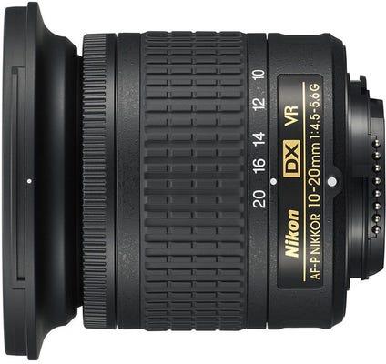 Nikon AF-P DX 10-20mm f/4.5- 5.6G VR Lens