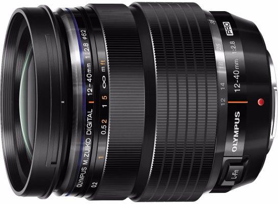 Olympus M.Zuiko PRO 12-40mm f/2.8 Black Lens
