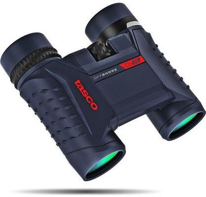 Tasco Offshore 10x25 Waterproof Compact Binocular - Blue