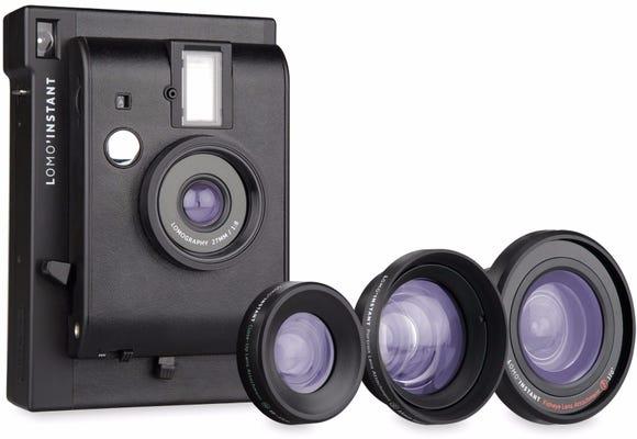 Lomography Lomo'Instant Camera and 3 Lenses Kit - Black