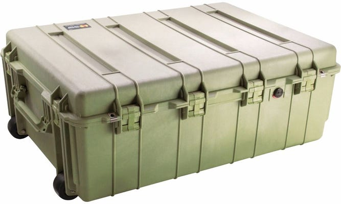 Pelican 1730 Olive Green Weapons Transport Case