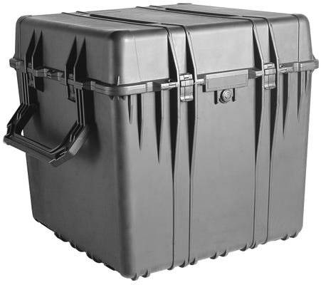 Pelican 370 Black Cube Case with Divider