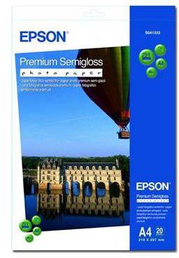Epson A4 Premium Semi-Gloss Photo Paper
