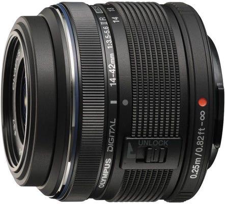 Olympus M.Zuiko 14-42mm f/3.5-5.6 II R Black Lens