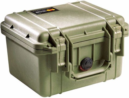 Pelican 1300 Olive Green Case with Foam