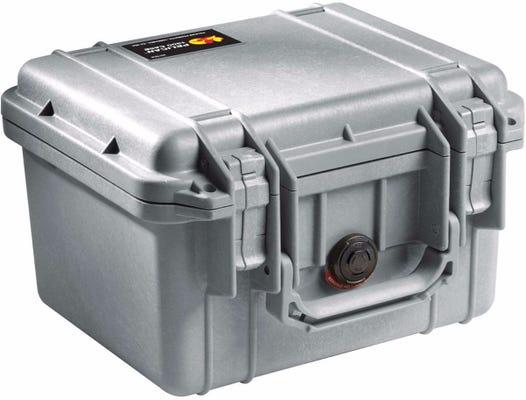 Pelican 1300 Silver Case