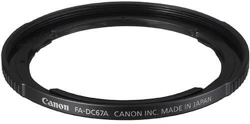 Canon FADC67A Filter Adaptor