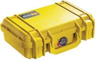 Pelican 1170 Case with Foam - Yellow