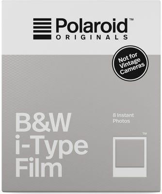 Polaroid Originals Black & White i-Type - Instant Film (8 Exposures)