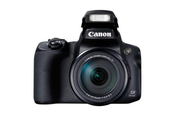 Canon Powershot SX70HS Black Digital Compact Camera