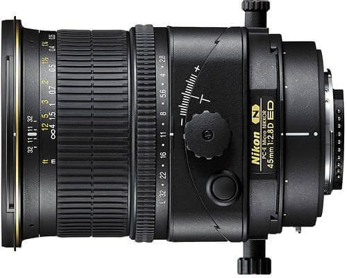 Nikon 45mm f/2.8D ED PC-E Lens