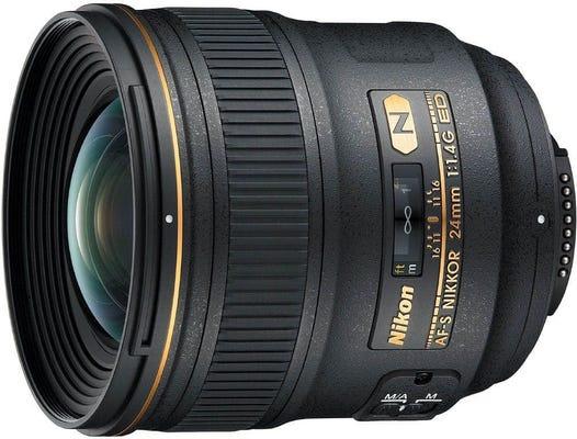 Nikon AF-S 24mm f/1.4G ED Wide Angle Lens