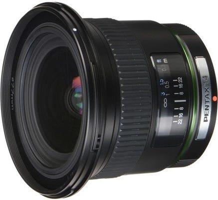 Pentax DA 14mm f/2.8 ED IF Wide Angle Lens