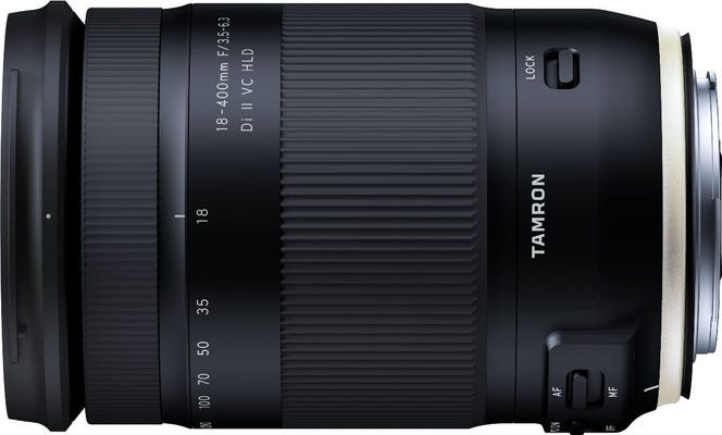 Tamron AF 18-400mm F/3.5-6.3 Di II VC HLD Lens - Nikon