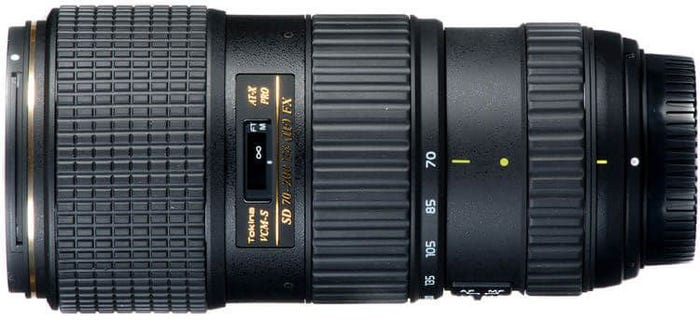 Tokina 70-200mm f/4.0 PRO FX VCM-S Telephoto Lens for Nikon