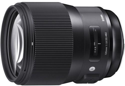 Sigma 135mm f/1.8 DG HSM Art Series Lens - Nikon