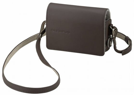 Olympus CSCH-115 Brown Leather Body Jacket & Strap