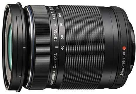 Olympus 40-150mm f/4.0-5.6 Zoom Telephoto 4/3rd Lens