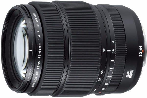 FujiFilm GF 32-64mm f/4 R LM WR Lens - GFX series