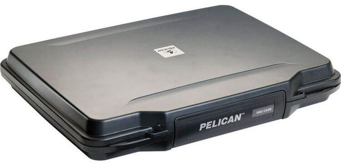 "Pelican 14"" Black Laptop Hardcase Case with Liner"
