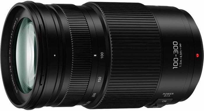 Panasonic Lumix G X Vario 100-300mm f/4.0-5.6 II Lens