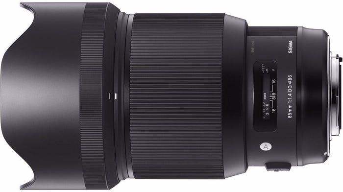 Sigma 85mm f/1.4 DG HSM Art Series Lens - Canon