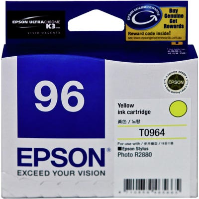 Epson C13T096490 Yellow Ink Cart T0964
