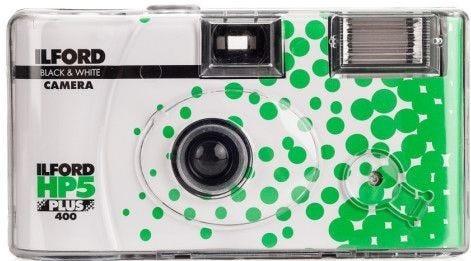 Ilford HP5 Plus 400 ISO 35mm Single Use Camera 27 Exposure Black & White Film