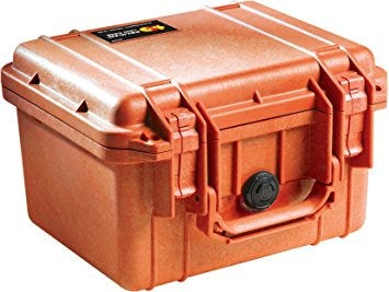 Pelican 1300 Orange Case