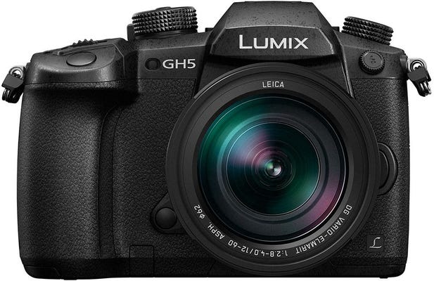 Panasonic GH5 w/Leica 12-60mm f/2.8-4 Lens Compact System Camera