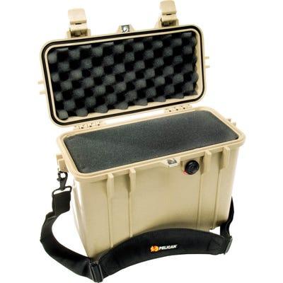 Pelican 1430 Desert Tan Case with Foam