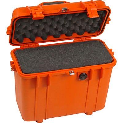 Pelican 1430 Orange Case with Foam