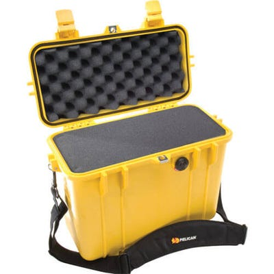 Pelican 1430 Yellow Case with Foam